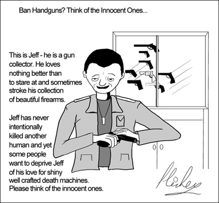 Ban Handguns? Think of the Innocent Ones...