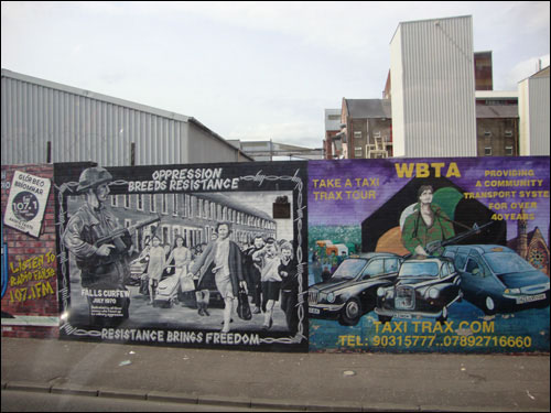 Belfast murals, June 2011
