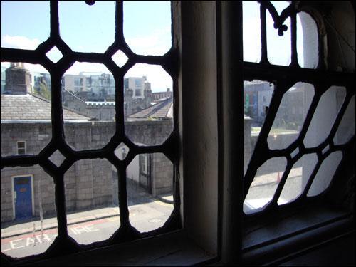 Dublin from a church window