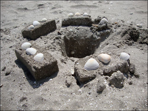 Sandymount beach
