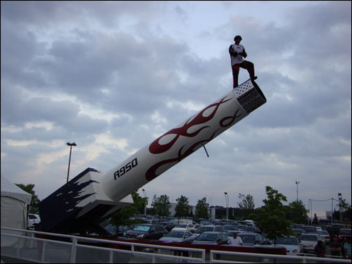 David Smith Jr. human cannonball