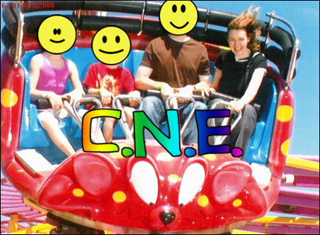 On the Crazy Mouse, CNE, August 16, 2008