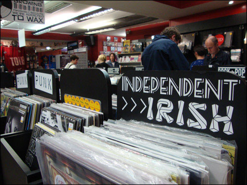 Tower Records, Wicklow Street, Dublin
