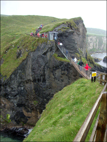 Carrick-a-Rede Rope Bridge, July 2, 201