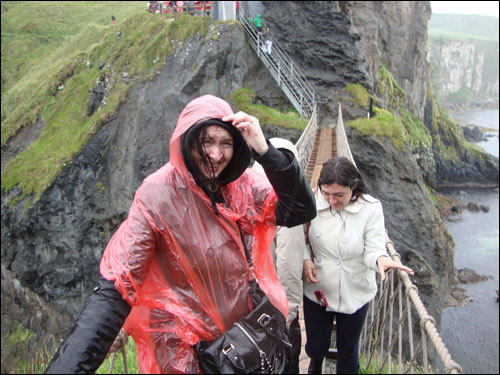 Carrick-a-Rede Rope Bridge, July 2, 2013