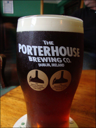 The Porterhouse Brewing Co, Pint, Dublin  Pub, July 3, 2013