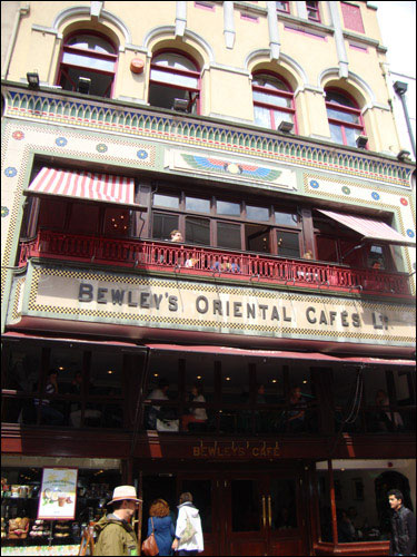 Bewley's Cafe, Grafton Street, Dublin, July 2013
