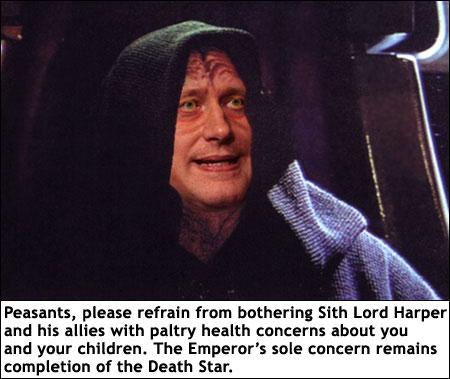 sith lord harper