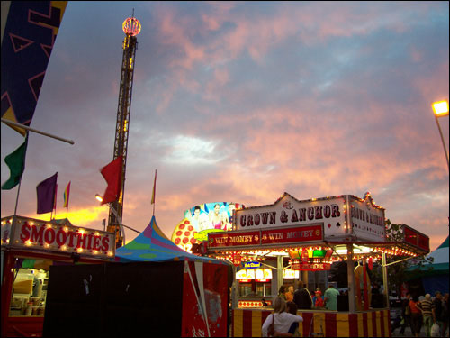 The Magic Hour, CNE, August, 2009