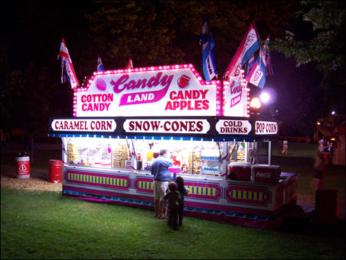 Late Night Snacking, CNE, August 25, 2009