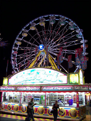 CNE Midway by Night, August 25, 2009