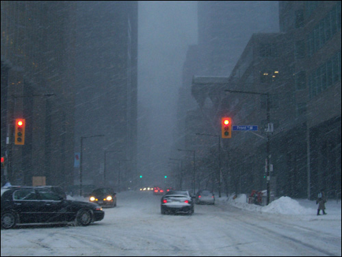 Front Street, Toronto, March 8, 2008