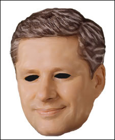 Stephen Harper Mask