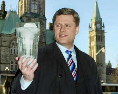 Stephen Harper, water rights