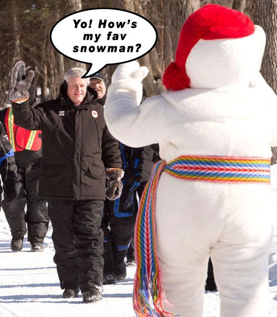 Yo! How's my fav snowman?