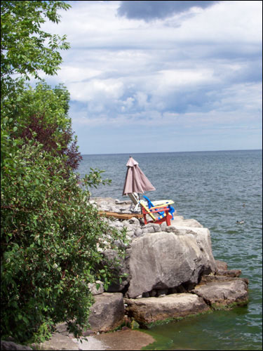 Lake Ontario vista
