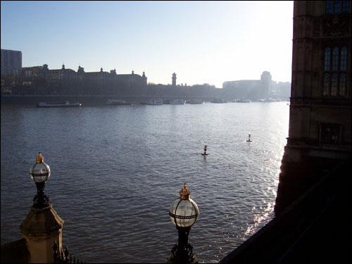 The Thames, December 7, 2008