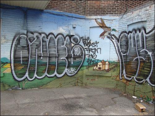 Plateau mural