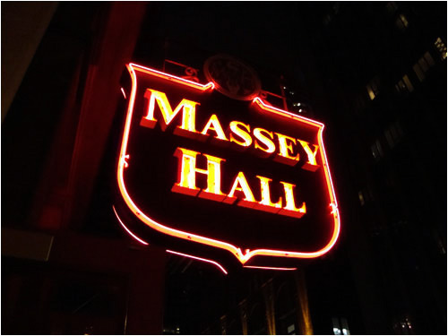 Massey Hall, March 12, 2010