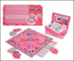 Pink monopoly - that's how you know it's meant for you, girls!
