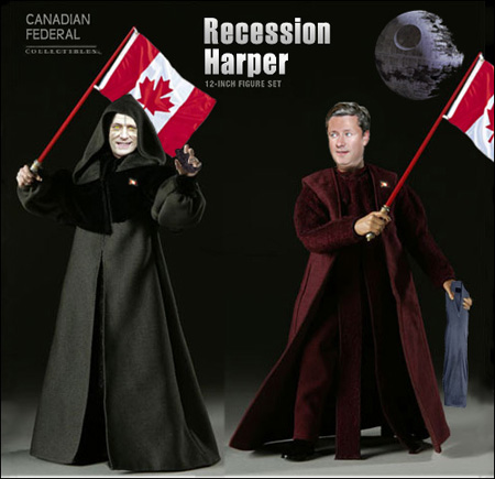 Recession Harper 12-inch figure set
