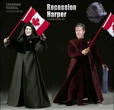 Recession Harper 12-inch figure set