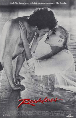 Reckless, 1984, Aidan Quinn & Daryl Hannah