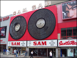 Sam Th e Record Man, Yonge St, June 3, 2007