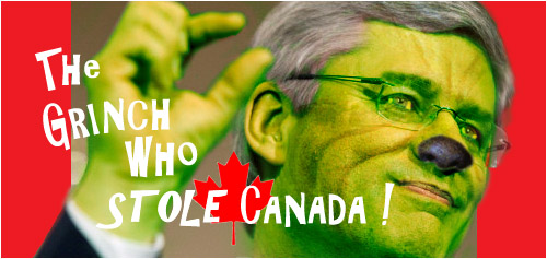 Stephen harper: The Grinch Who Stole Canada