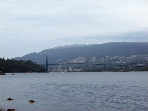 Lions Gate Bridge, Stanley Park