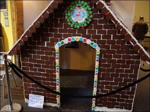 Distillery District gingerbread house