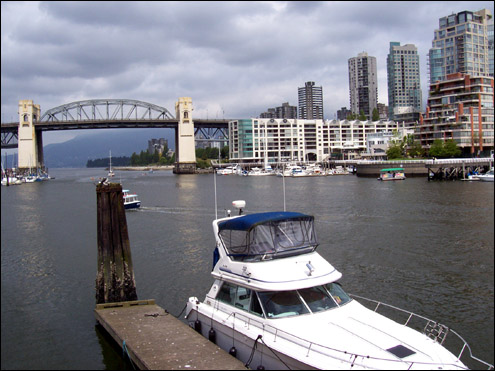 The View from Granville island