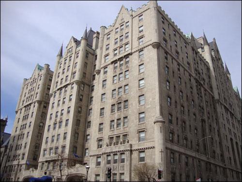 Le Château Apartments, Sherbrooke Street, Montreal