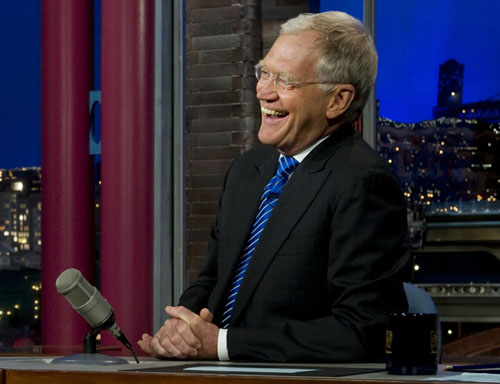 David Letterman, The Late Show