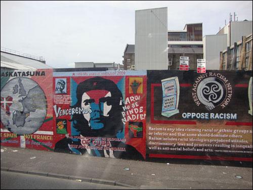 Belfast murals, June 2011