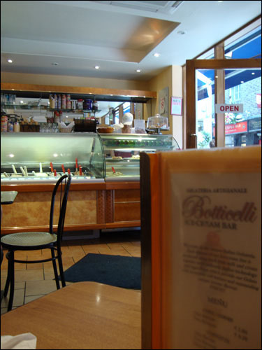 Botticelli Ice Cream Bar, Temple Bar, Dublin