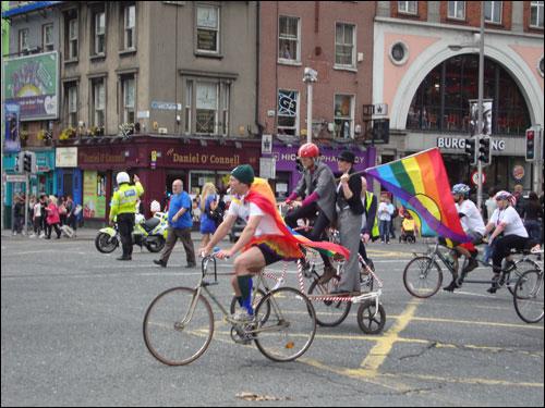Dublin Pride parade 2011