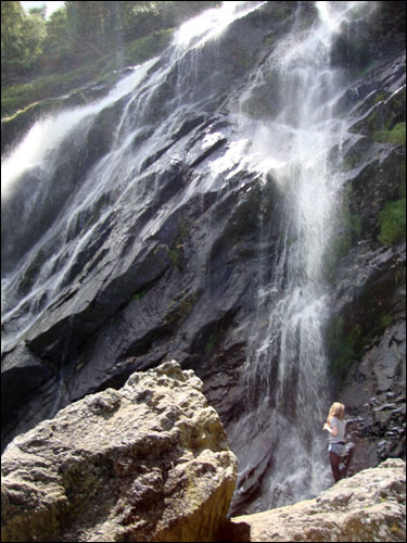 Powerscourt Waterfall, Wicklow
