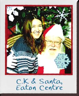 C. K. & Santa, Eaton Centre