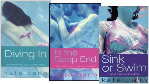 Diving In, In the Deep End, Sink or Swim by Kate Cann