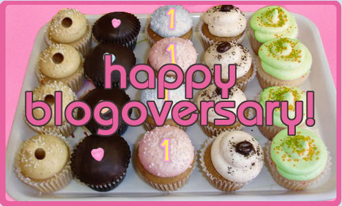 happy blogoversary!