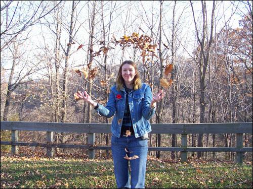 Fall leaves, November 8, 2009
