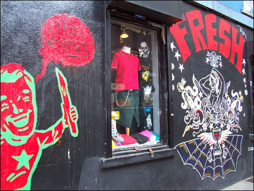 Temple Bar Shop, Dublin, May 2008