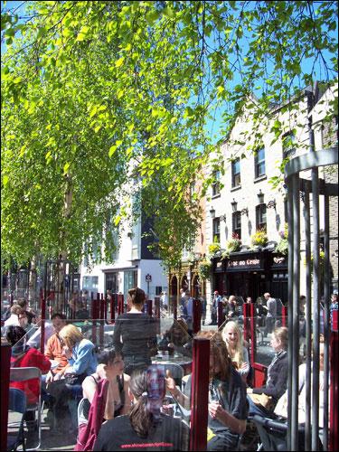 Temple Bar, Dublin, May 2008