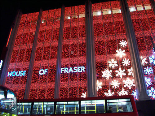 House of Fraser, Oxford Street, December 9, 2008