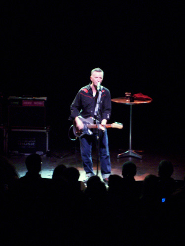 Billy Bragg, Shepherds Bush Empire, December 8, 2008