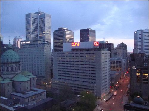 Montreal at dawn