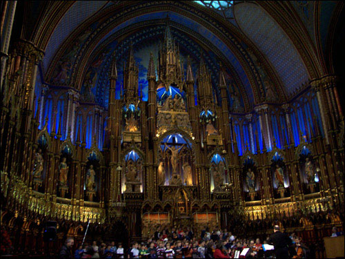 Notre Dame, old Montreal