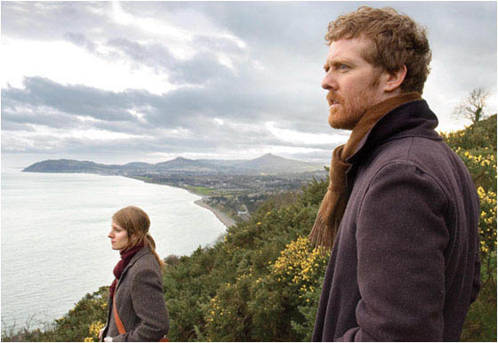 "Marketa Irglova (left) and Glen Hansard (lead singer of The Frames) in John Carney's ""Once""."