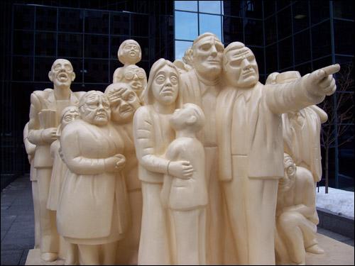 1985 Statue